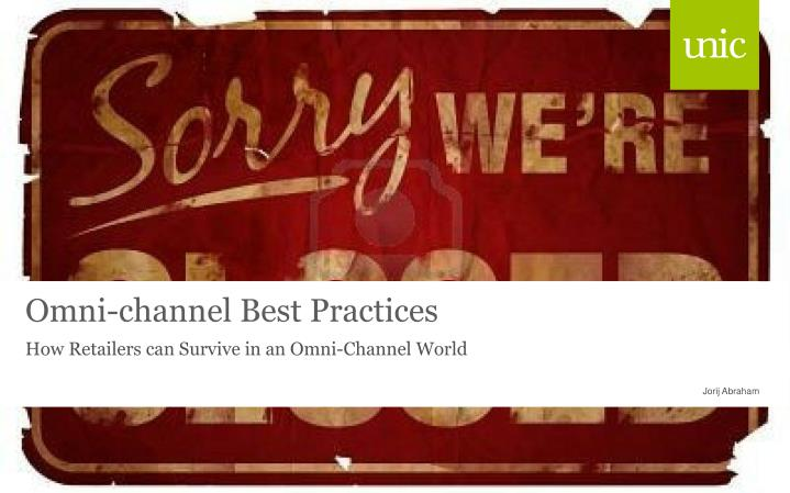 omni channel best practices n.