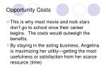 opportunity costs3