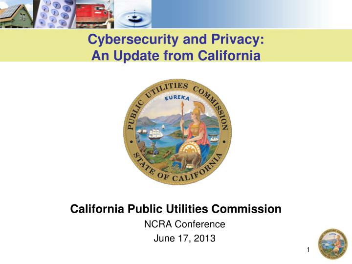 cybersecurity and privacy an update from california n.