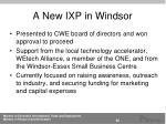 a n ew ixp in windsor1