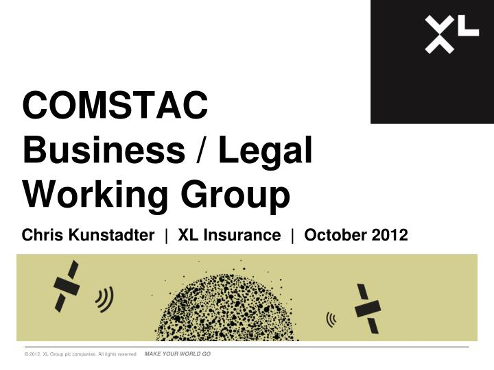 comstac business legal working group n.