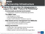 imsn partnership infrastructure