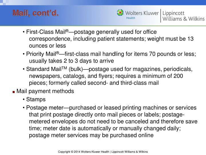 Mail,