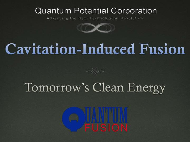 cavitation induced fusion n.