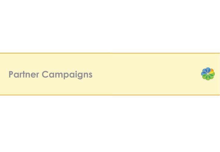 Partner Campaigns