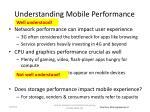 understanding mobile performance