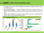 andhra pradesh rabi maize status