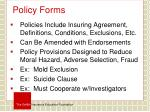 policy forms1