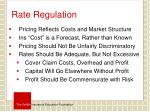 rate regulation1