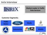 inrix interview