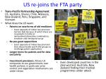 us re joins the fta party