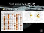 evaluation result 4 8