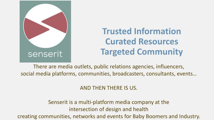 trusted information curated resources targeted community n.