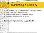 marketing obesity