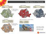 retail network in romania