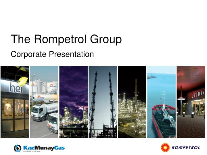 the rompetrol group n.