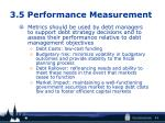3 5 performance measurement