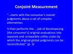 conjoint measurement1