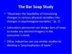the bar soap study3