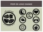 peer ed logo change