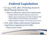 federal legislation1