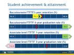 student achievement attainment
