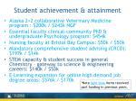 student achievement attainment2