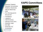 kaps committees