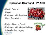 operation heart and hiv abc