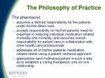 the philosophy of practice