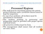 food safety standards regulations 201117