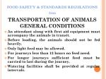 food safety standards regulations 201121