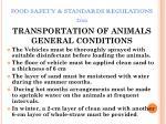 food safety standards regulations 201123