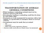 food safety standards regulations 201124