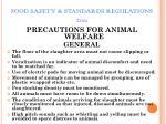 food safety standards regulations 201136