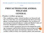 food safety standards regulations 201139