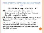 food safety standards regulations 20114