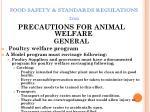 food safety standards regulations 201140