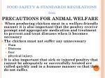 food safety standards regulations 201143