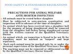 food safety standards regulations 201145