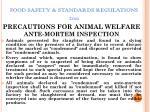 food safety standards regulations 201147