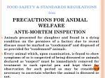 food safety standards regulations 201148