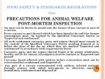 food safety standards regulations 201151