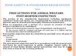 food safety standards regulations 201152