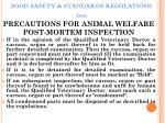food safety standards regulations 201154