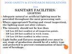 food safety standards regulations 201160