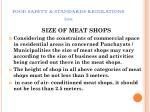 food safety standards regulations 201170