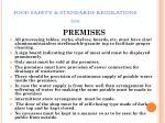 food safety standards regulations 201172