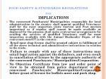 food safety standards regulations 201179