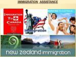 immigration assistance